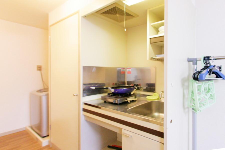 コンパクトで使いやすいキッチン