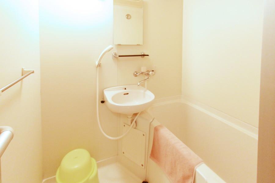 ゆったりくつろげるバスルーム