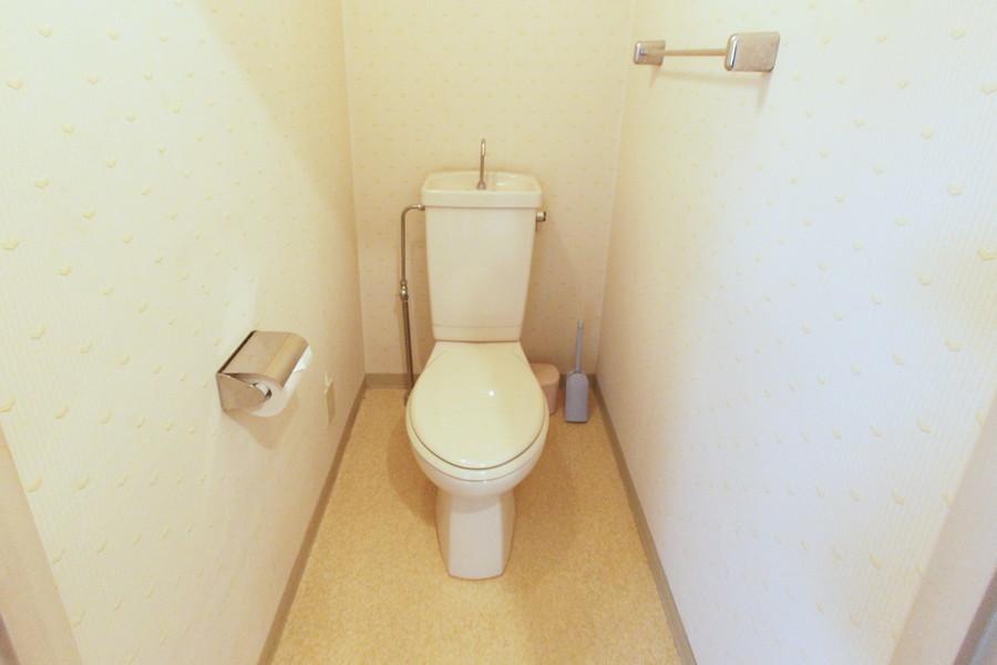 衛生面が気になるトイレもセパレート式で安心です