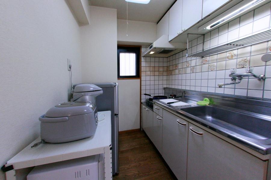 キッチンの見どころは圧倒的な収納量!シンクも広く洗い物もはかどります