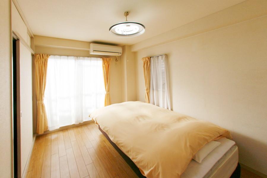 いずれの部屋にも窓があるため、日当たりがイマイチという心配がありません