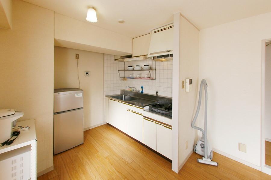 ご自宅のキッチンのように広々とお使いいただけます