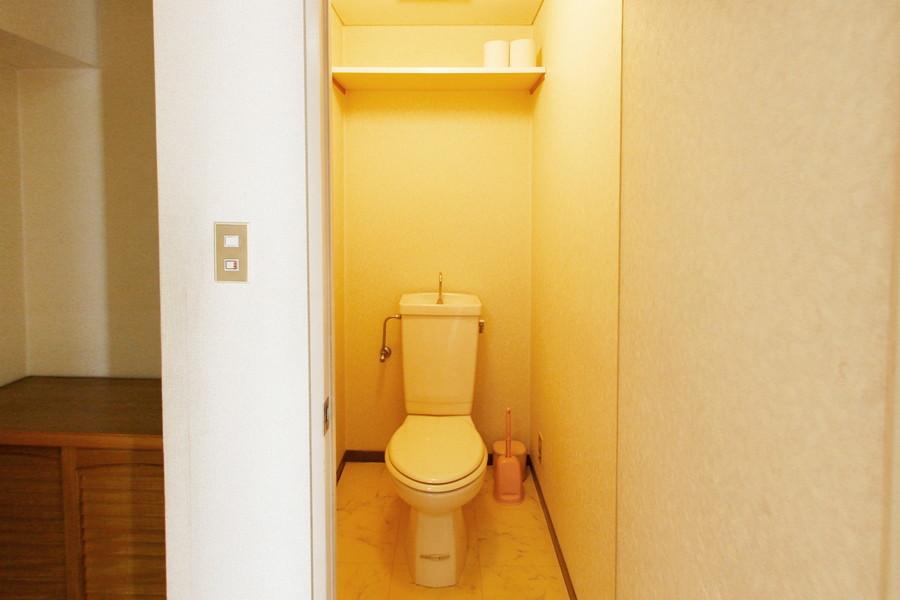 衛生面が不安なトイレもセパレートタイプで安心です