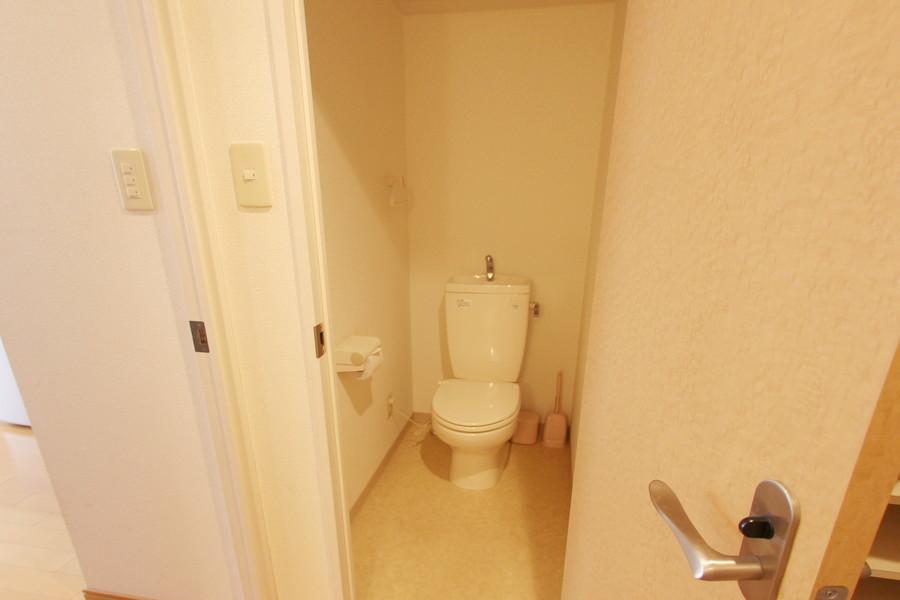 衛生面が気になるトイレもセパレートタイプで安心です