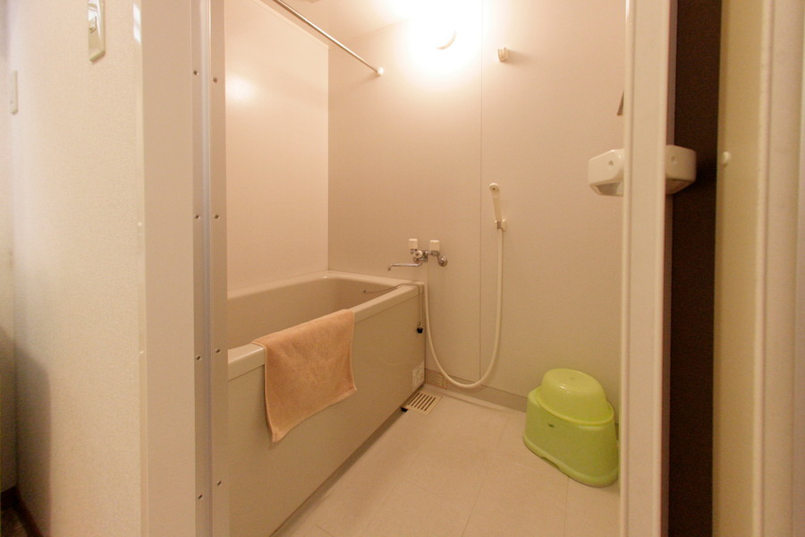 毎日の疲れを癒やすお風呂。浴室乾燥機能付きです