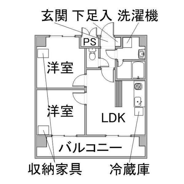クラシエ豊田市駅-2の間取り