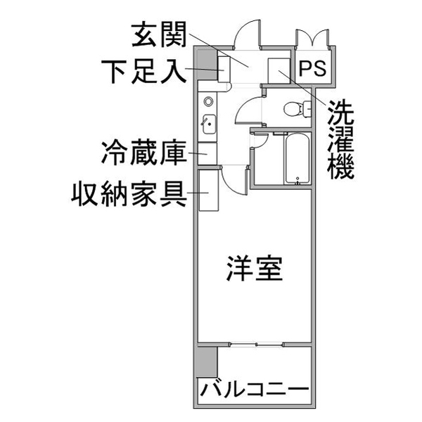 クラシエ豊田市駅-1の間取り