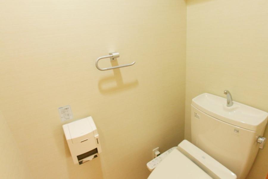 トイレはウォシュレットを完備