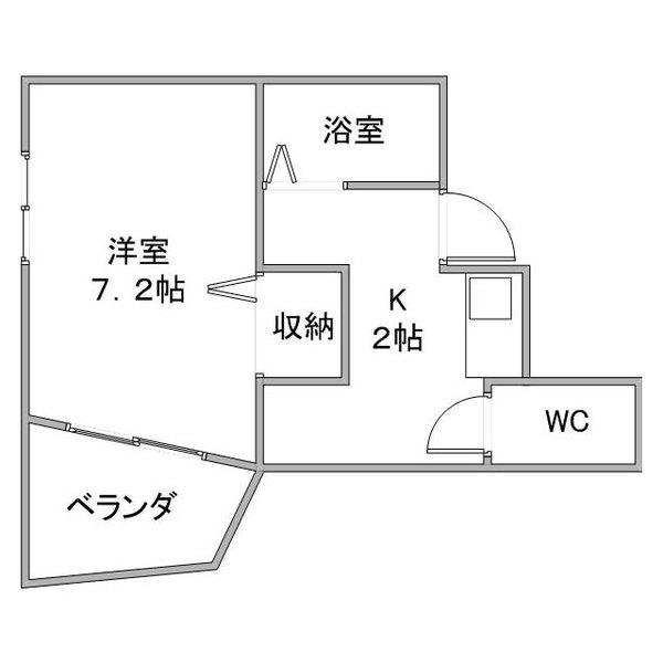 【カケコミ割】ルーレント春日井5-3の間取り