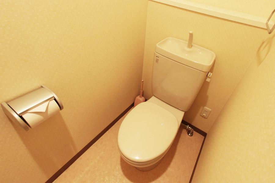衛生面も安心のセパレートタイプです
