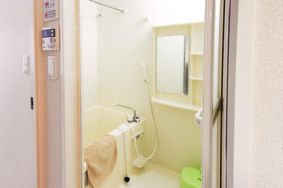 人気の浴室乾燥機能搭載。寝る前に干せば翌朝カラッと乾燥!
