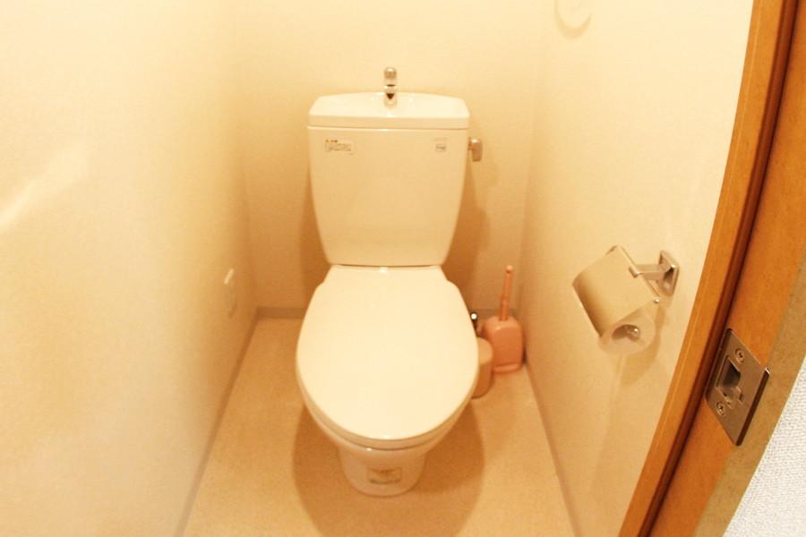 衛生面が気になるお手洗いもセパレートタイプで安心です