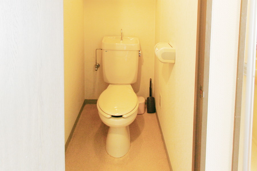バス・トイレ別で衛生面も安心です