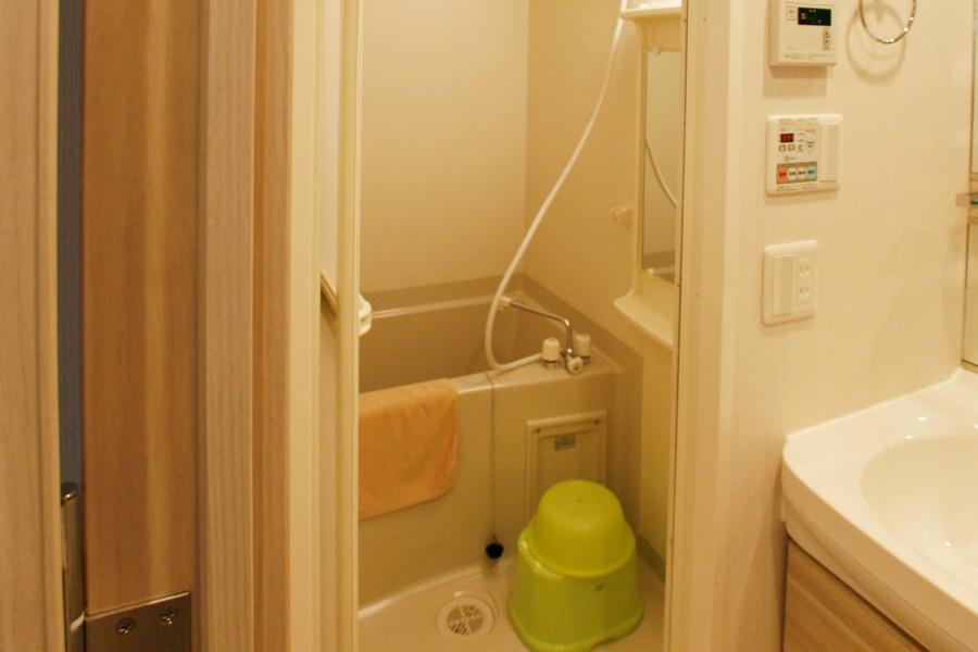 あると嬉しい浴室乾燥機能を完備。急な洗濯物でも安心です