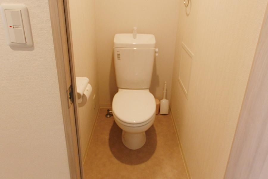 衛生面で気になるトイレもセパレート式で安心です