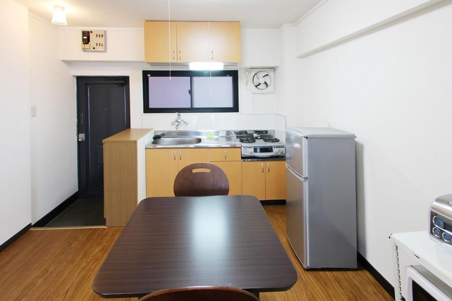 キッチンは広さはもちろん収納スペースもしっかり確保されています