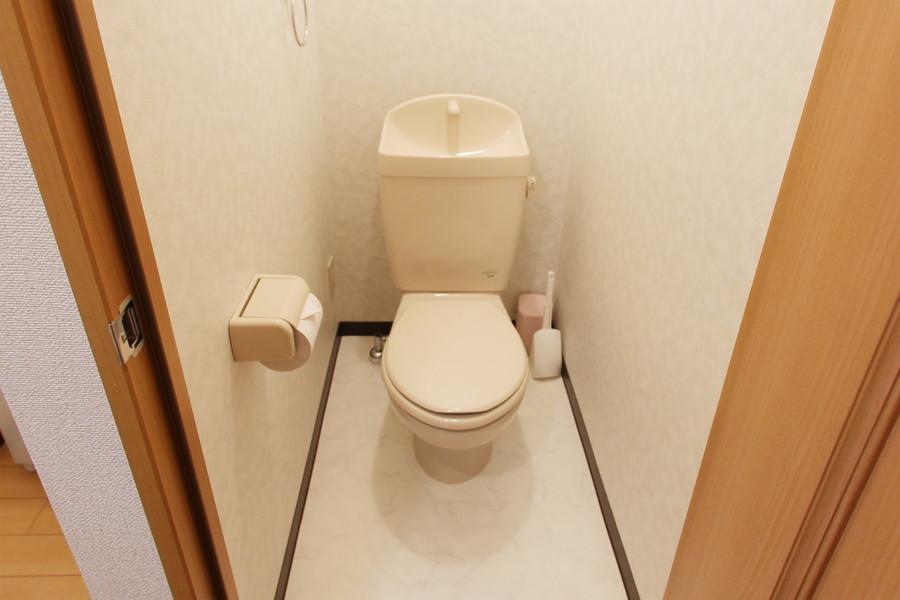 バス・トイレはセパレートタイプで衛生面も安心です