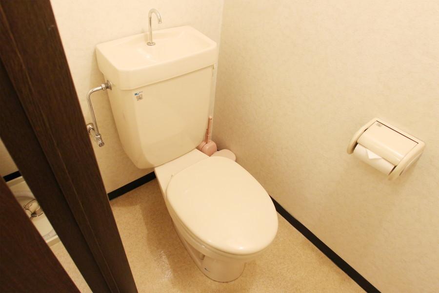 衛生面が気になるお手洗いはセパレートタイプ