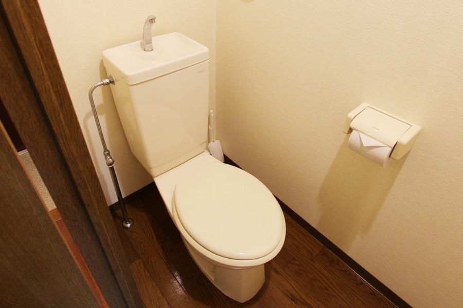 衛生面が気になるトイレもセパレートタイプで安心