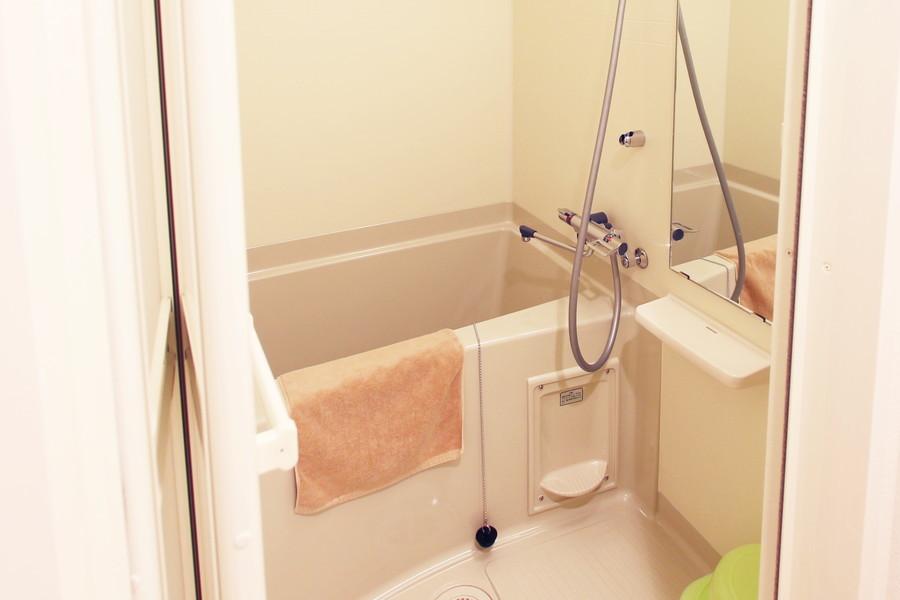 清潔感のあるバスルームには浴室乾燥機能も搭載!