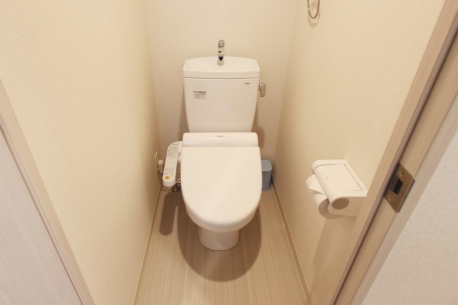 トイレには人気のウォシュレットを完備しています