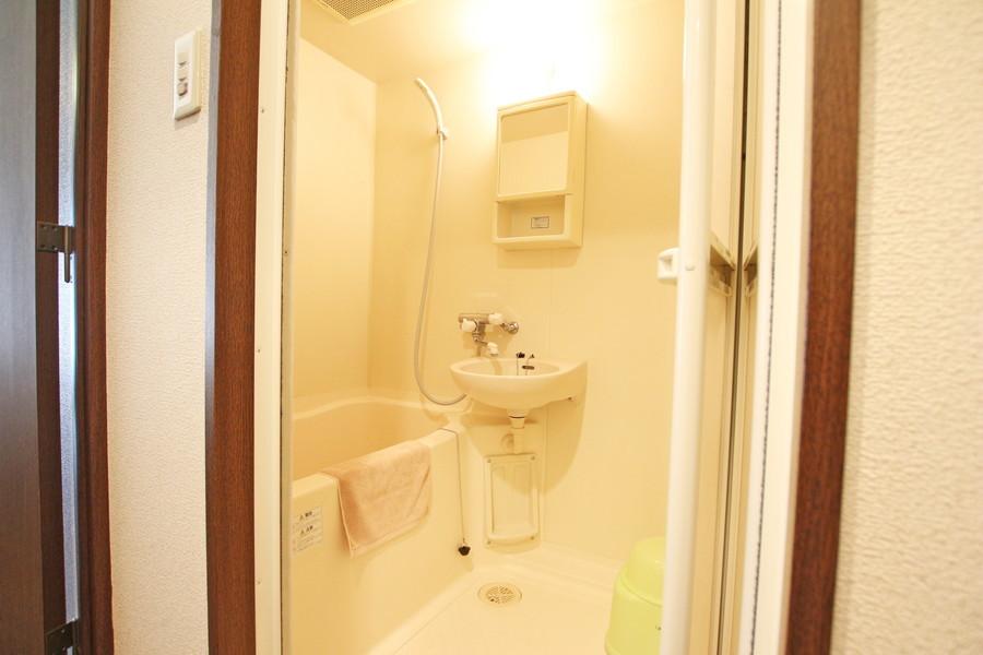 お風呂は洗い場スペースもしっかりあります