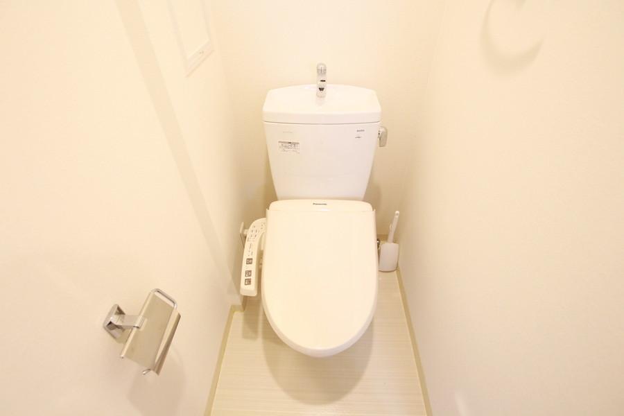 衛生面が気になるトイレもセパレート式で安心