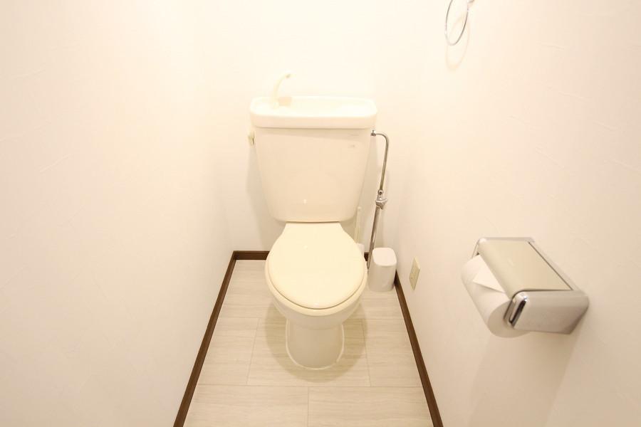 シンプルで清潔感あふれるお手洗い