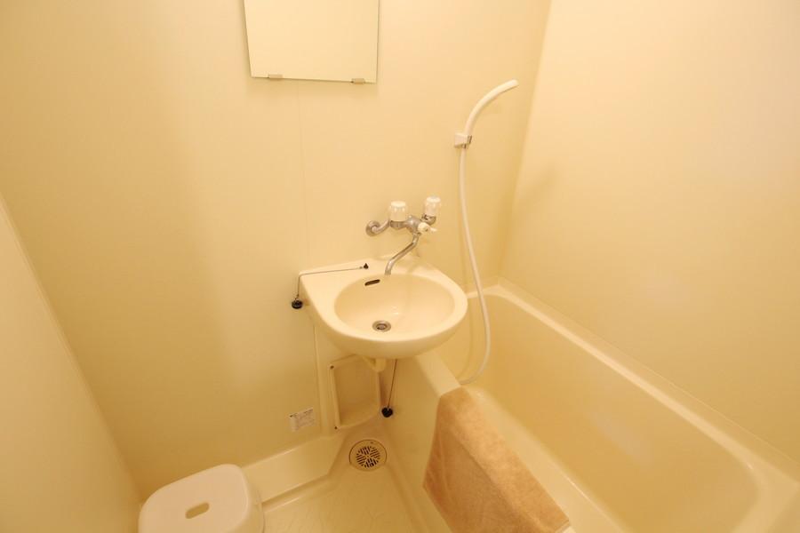 お風呂は過ごしやすく清潔感たっぷり