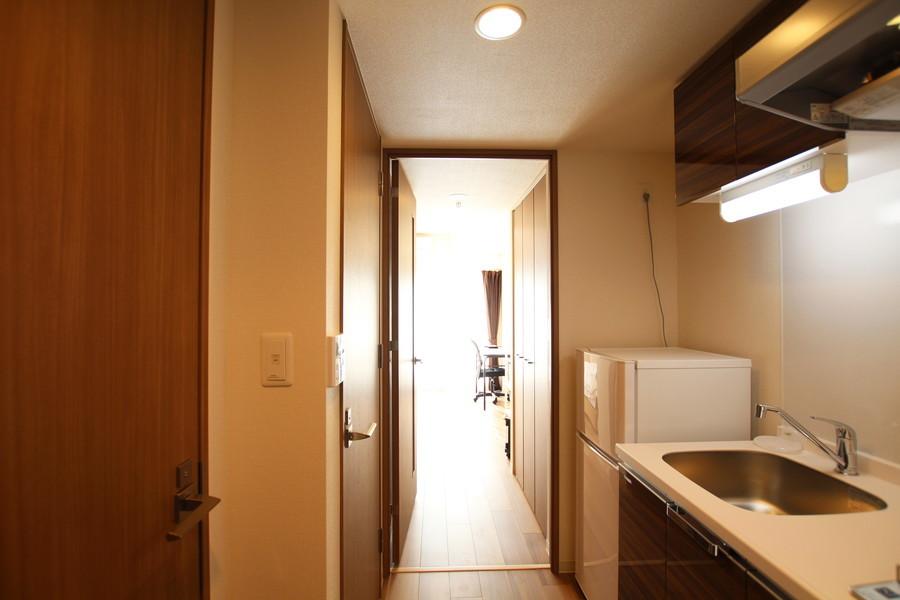 お部屋から玄関まではフルフラット。足元の不安もありません