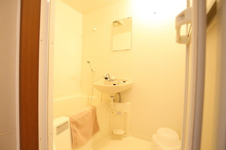 バスマット、洗面器などお風呂用品各種は当社で準備しております