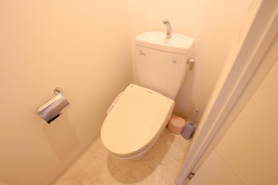お手洗いはセパレートタイプ。気になる衛生面もクリア
