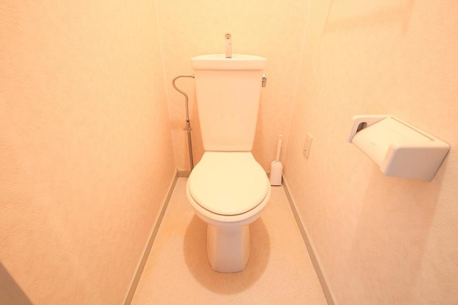 衛生面の気になるお手洗いもセパレートタイプで安心です