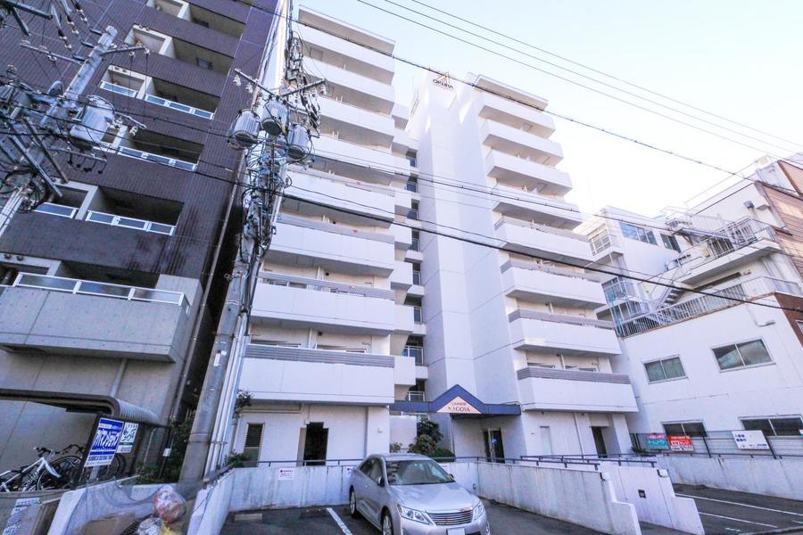 名古屋駅から徒歩7分の好立地。駅周辺でのビジネス拠点として最適です