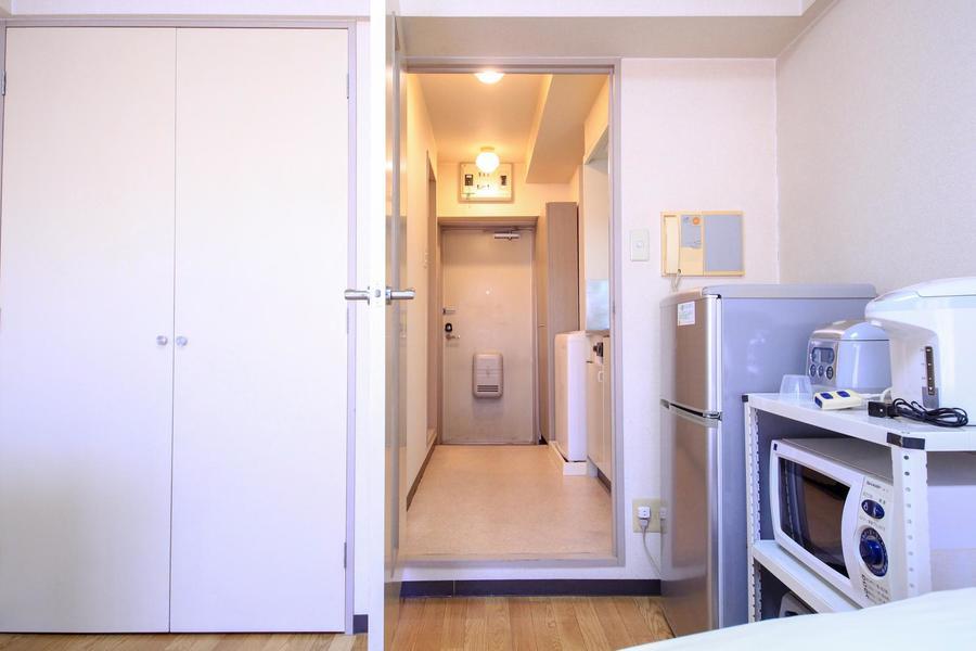 間仕切り扉つきでプライバシー確保、室温管理などに役立ちます