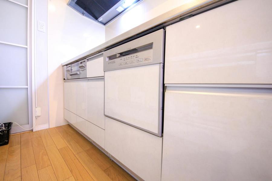 なんと食洗機が設置! 他のマンスリーではなかなか見られない設備です