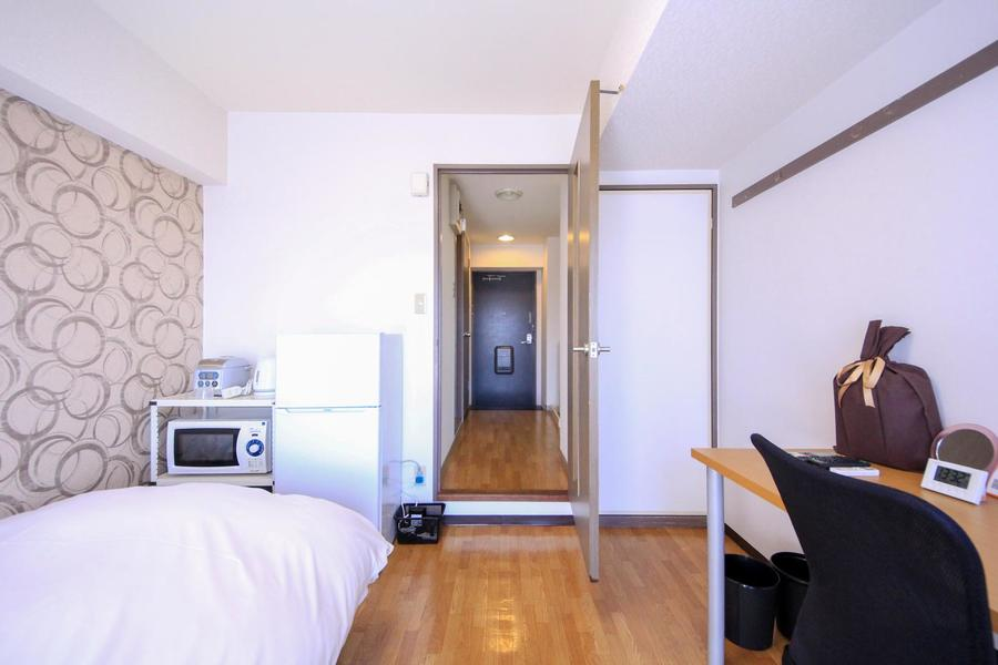 仕切り扉は来客時の目隠しに、室温調節にと様々にお使いいただけます