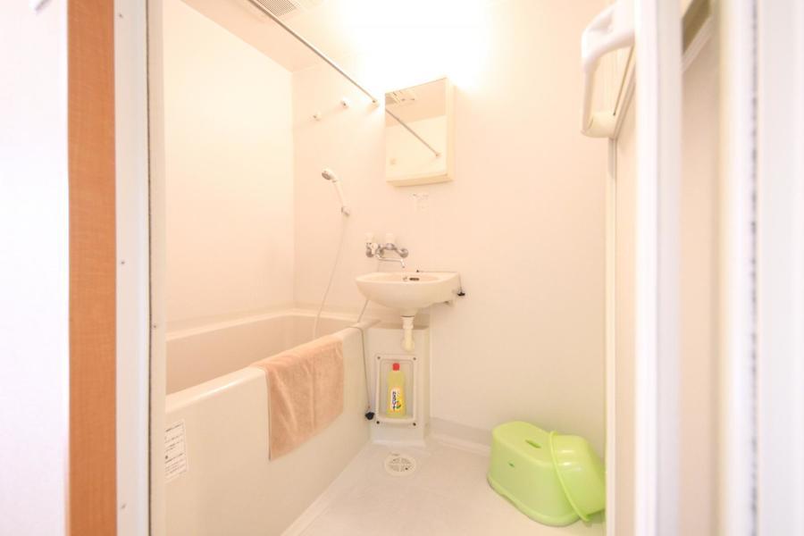 浴室には便利な乾燥機能搭載! 急ぎの洗濯物もおまかせください