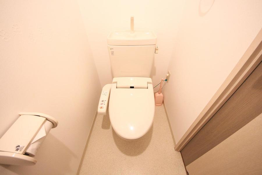 衛生面が気になるお手洗いもセパレート式で安心ですね