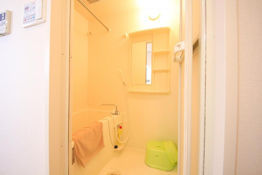 毎日の疲れを癒やしてくれるバスルーム。浴室乾燥機も搭載されています