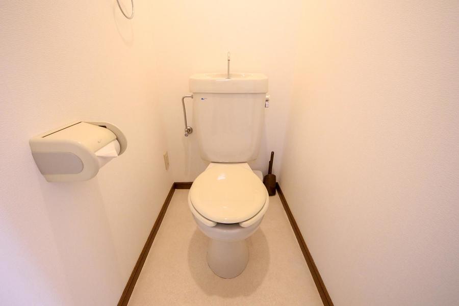 トイレは独立タイプ。バス・トイレは別で! というお客様も安心です