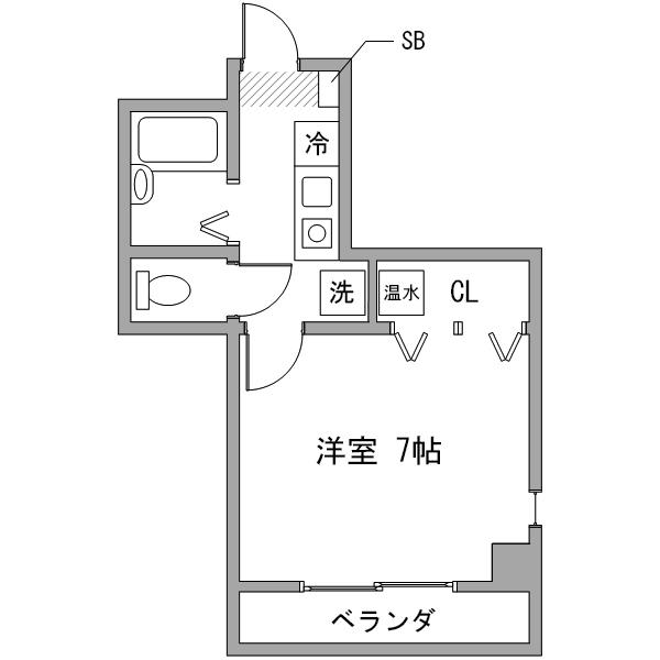 【オータムセール】ルーレント名駅21の間取り