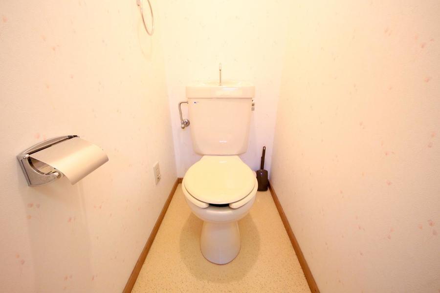 衛生面が気になるお手洗いもセパレート式で安心です
