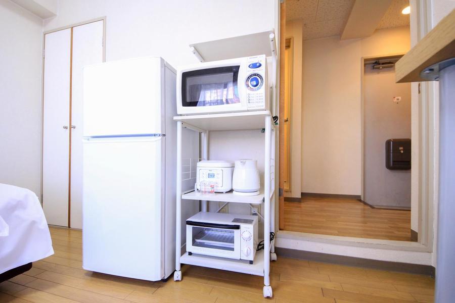 電子レンジや炊飯器などのキッチン家電でマンスリーライフをより快適に!