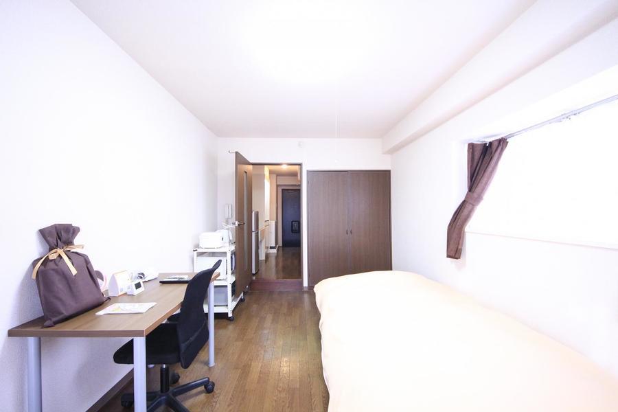 仕切り扉は来客時のプライバシー確保、室温管理に役立ちます