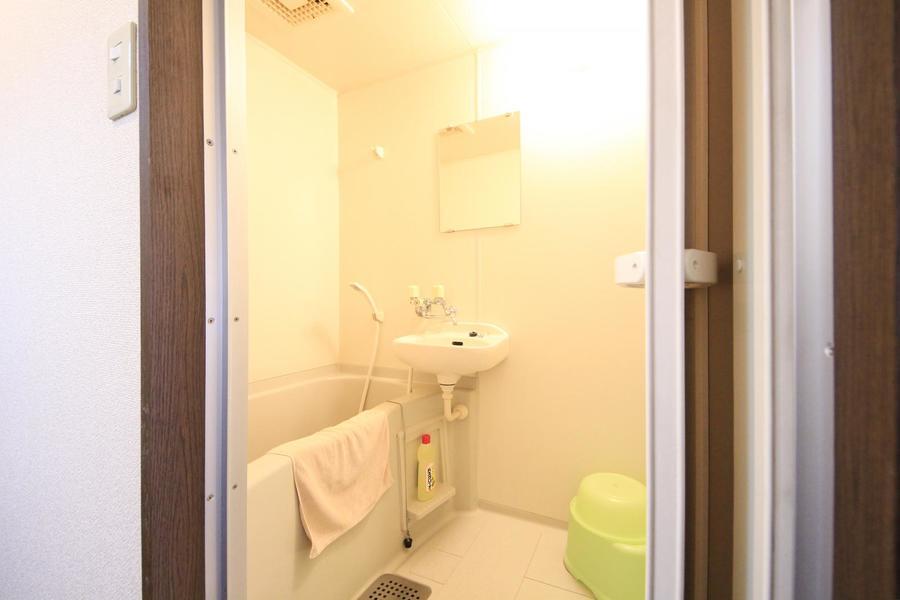 毎日使うお風呂は広く清潔感抜群