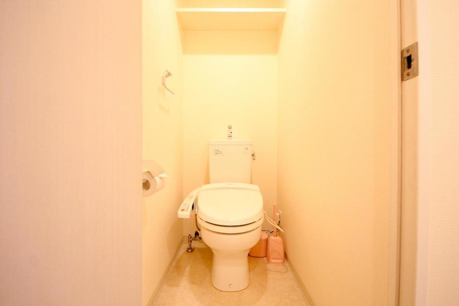 お手洗いはセパレートタイプ。衛生面でも安心です