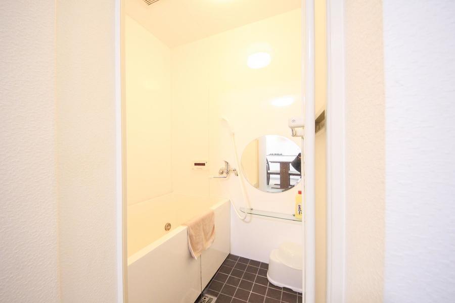 癒やしのバスルーム。嬉しい浴室乾燥機能を完備しています