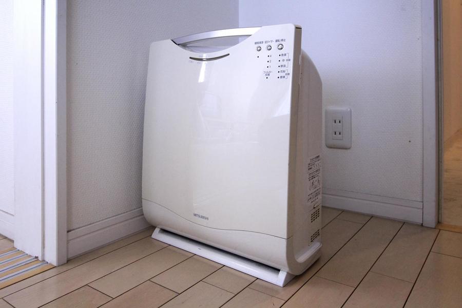 オプション品として人気の高い空気清浄機が標準設置!