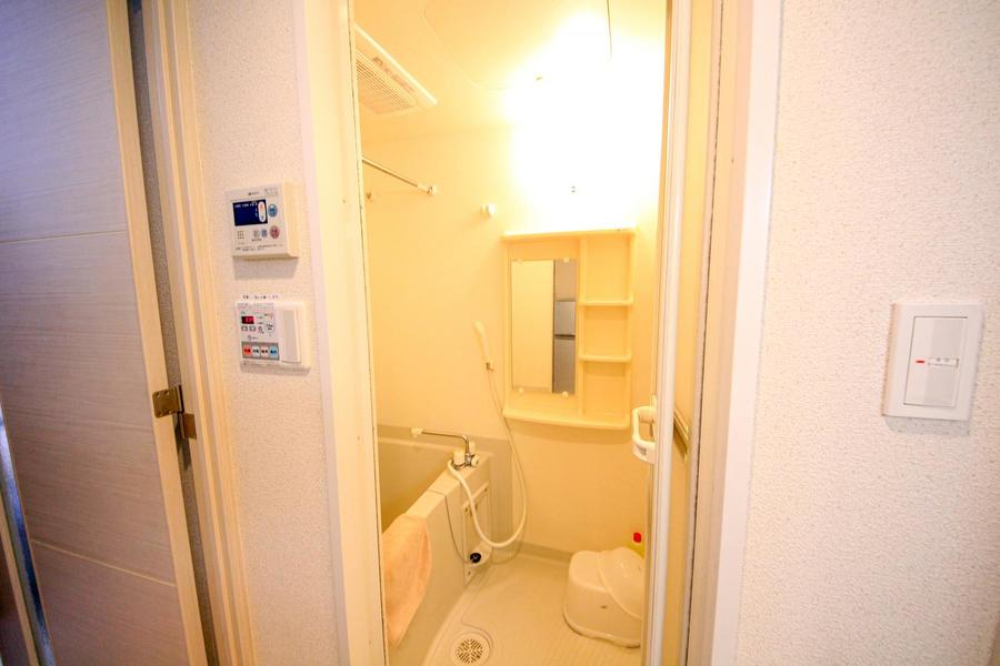 ゆったり過ごせるバスルームは浴室乾燥機能を搭載しています